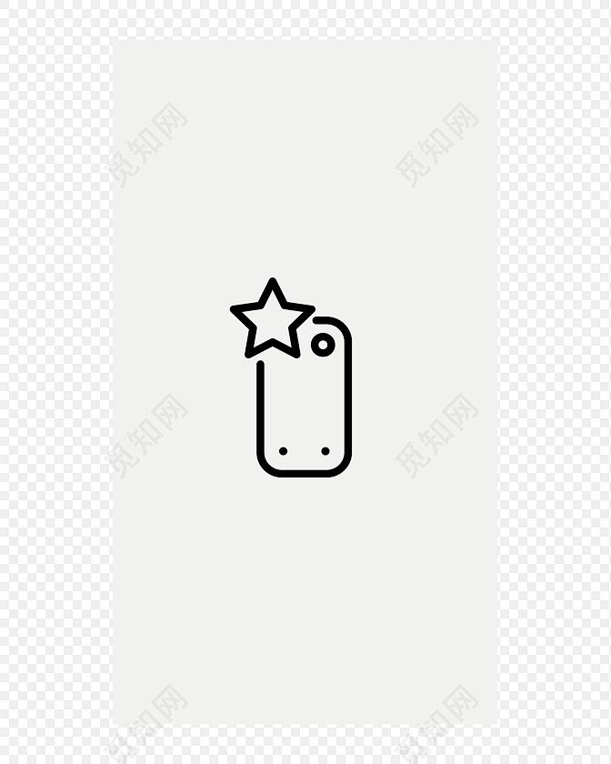 手机闪光灯智能手机图标素材