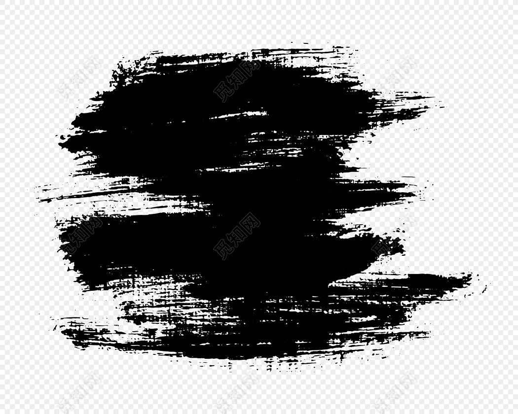 eps 免费下载eps png素材水墨笔刷笔触矢量素材标签:水墨 免抠素材