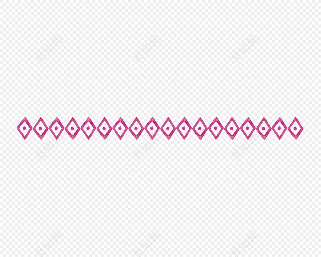 花边花纹分割线框线素材
