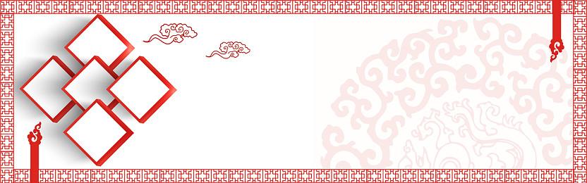 中國風紋理邊框背景花紋