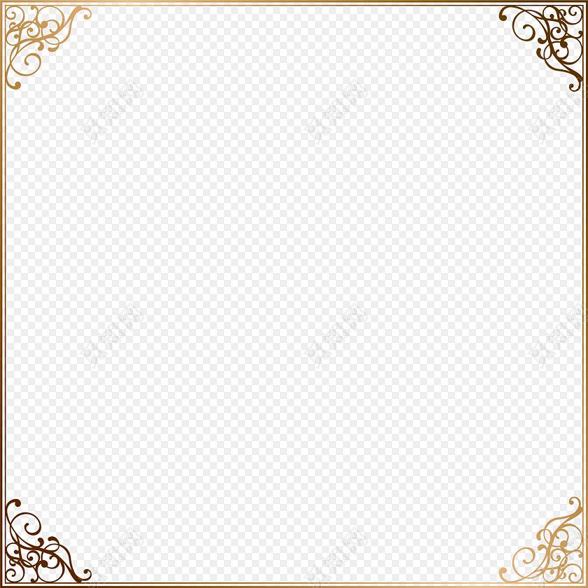 欧式花纹边框素材