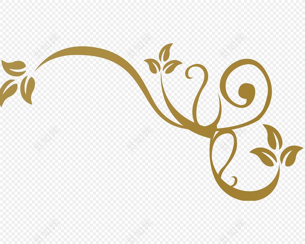 素材金色清新装饰花边边框素材标签:花边边框 免抠素材 矢量素材 古风