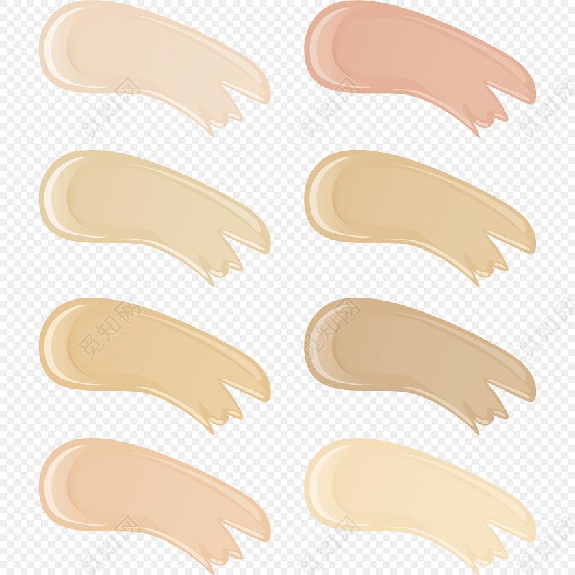 肉色简约美容化妆品图片下载素材