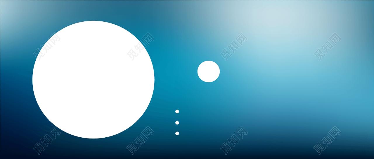 中秋佳节圆月亮banner背景素材