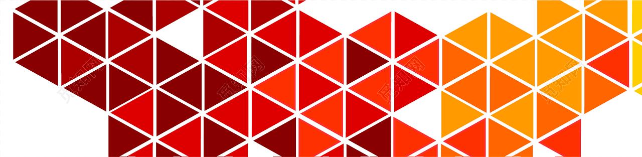 彩色三角拼接几何图案背景素材