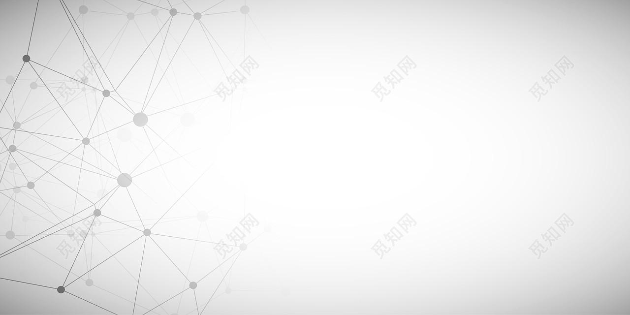 灰色白色科技几何背景素材科技线条名片