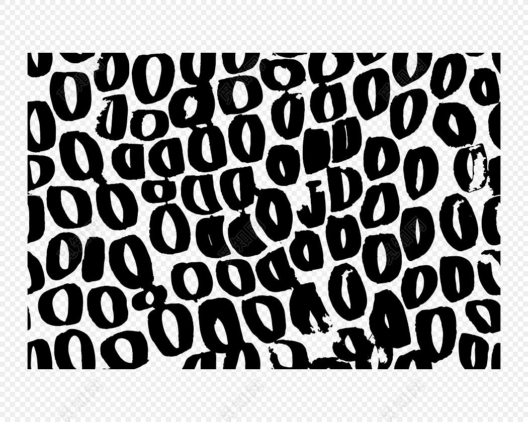 简约黑白不规则圆形底纹纹路背景素材