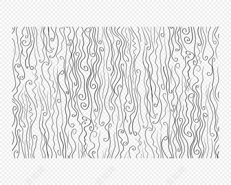 简约黑白不规则曲线底纹纹路背景素材