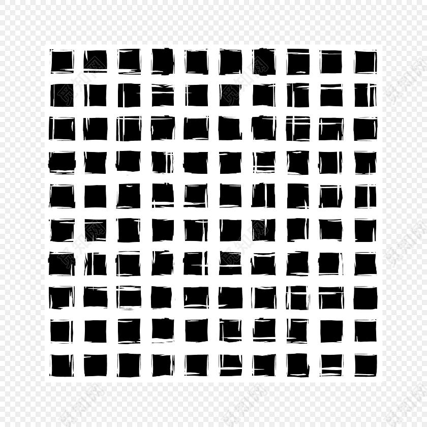 黑色格子矢量素材
