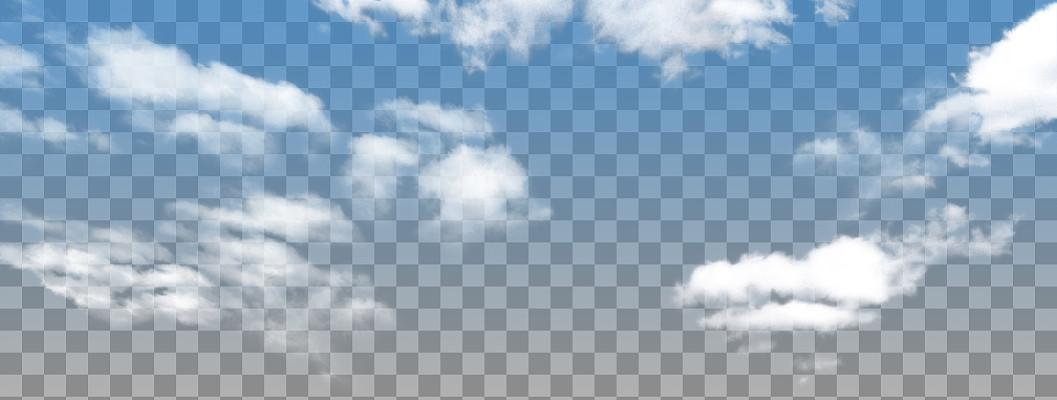 云彩筆刷白云免摳PNG素材
