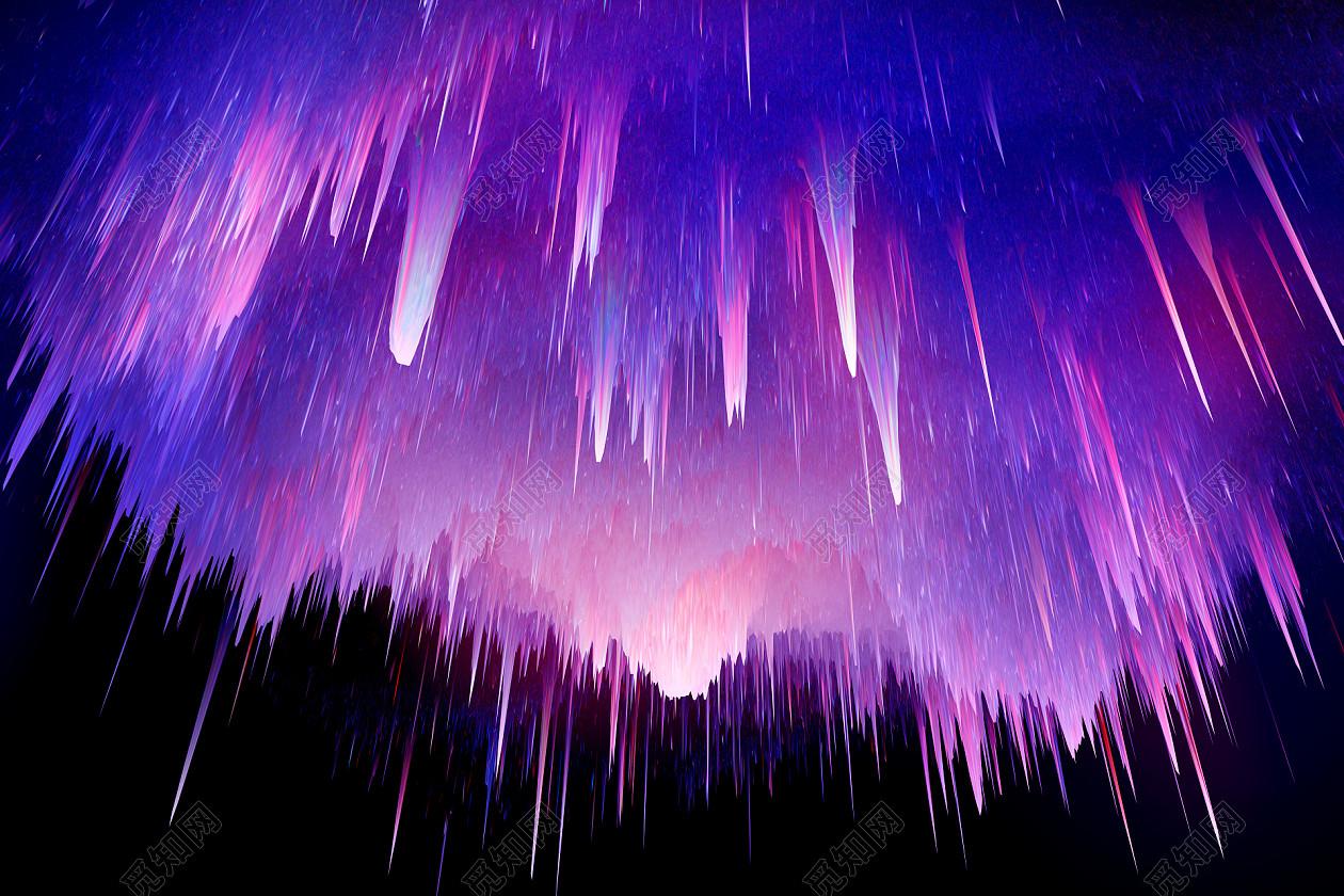 宇宙大爆炸故障扭曲抽象背景素材