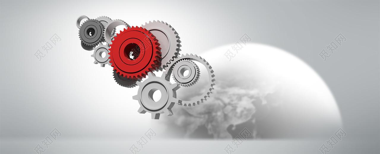 简约齿轮机械背景免费下载_背景素材_觅知网