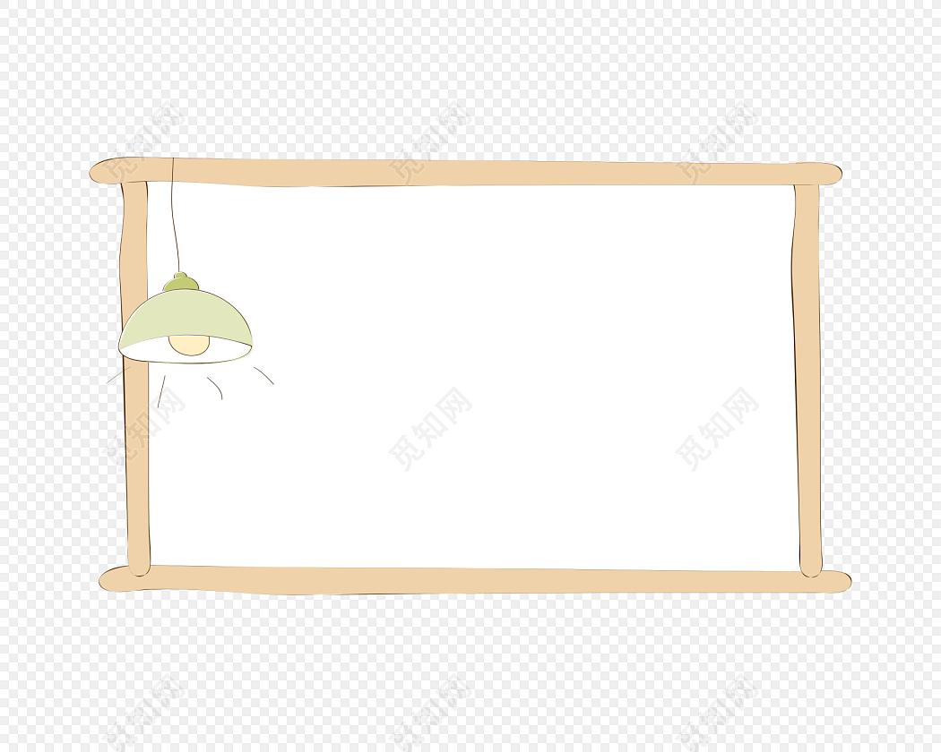 手绘卡通窗口素材
