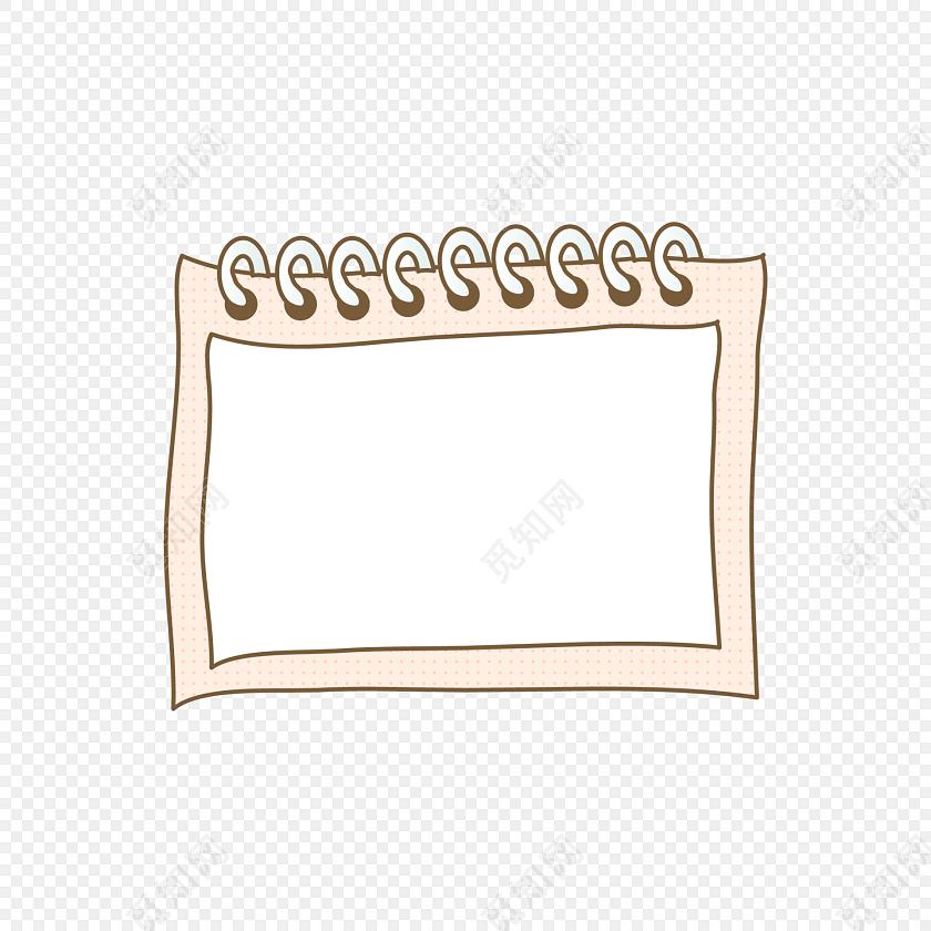 手绘卡通相框花边边框素材