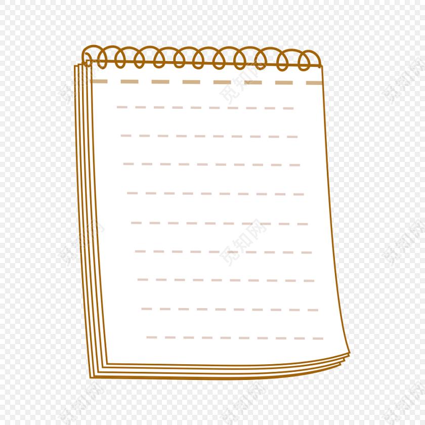 记事本素材花边边框
