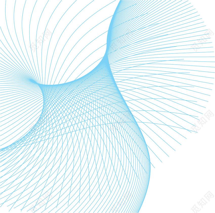 几个线条曲线底纹纹理底图素材