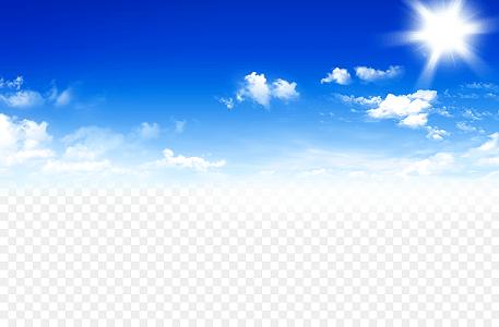 天空白云素材藍天白云