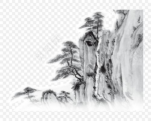 美丽的风景画图片素材免费下载_觅知网