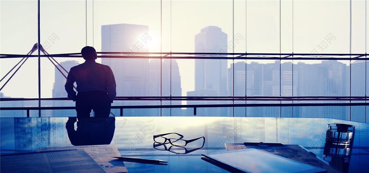 金融互联网商务城市建筑海报背景图片