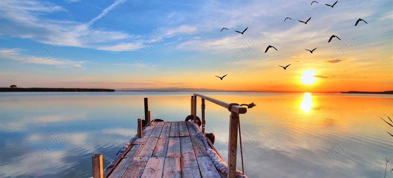 下载jpg 背景素材 唯美大海夕阳沙滩摄影风景海报背景图标签:背景素材