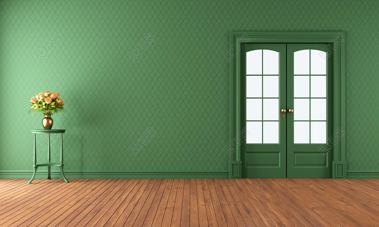 绿色环保竹林竹炭室内装修背景素材