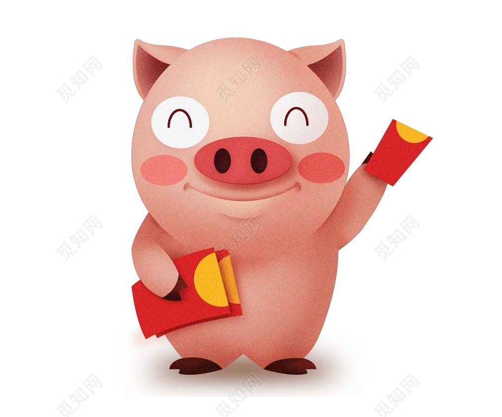 新年猪年小猪素材