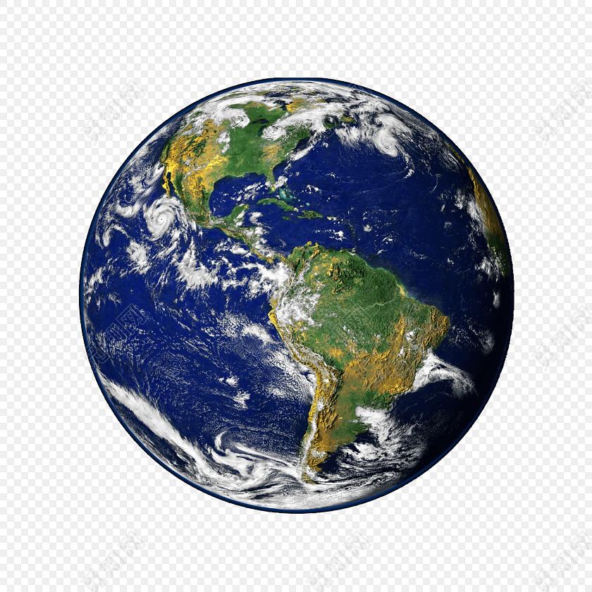创意3d地球行星模型素材免费下载_觅知网