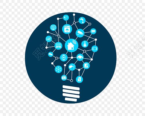 创意灯泡联想矢量图素材