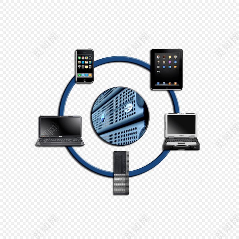 科技电脑手机矢量图素材