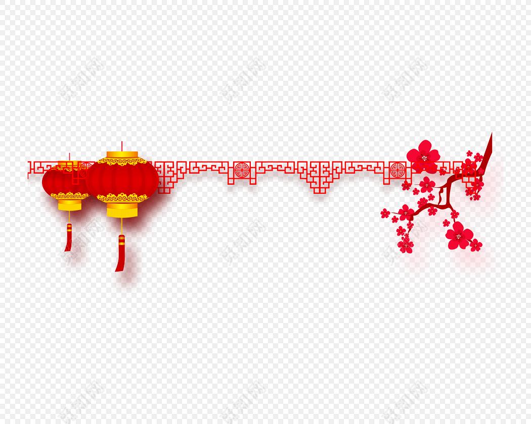 喜庆中国风边框素材