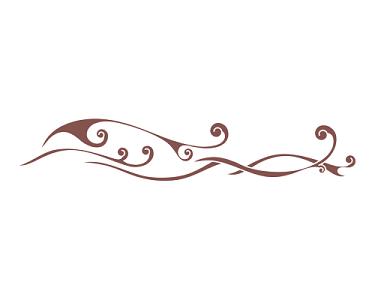 細浪花古典水紋