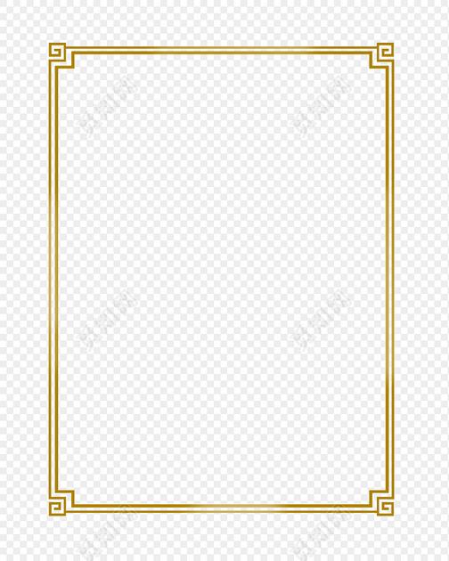 古典中式边框中式边框免费下载_png素材_觅知网