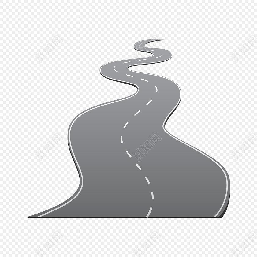 马路矢量图下载