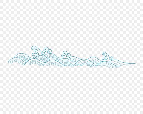 矢量古典水紋