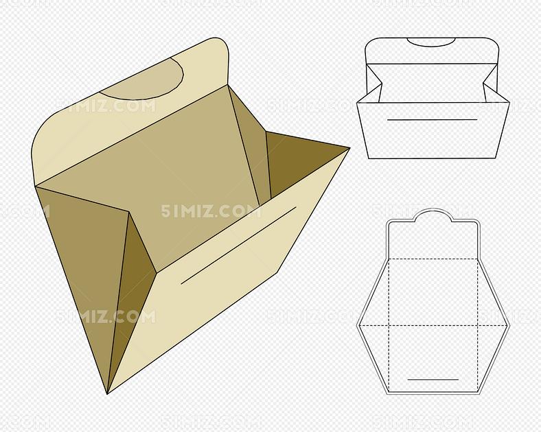 矢量图纸盒包装设计
