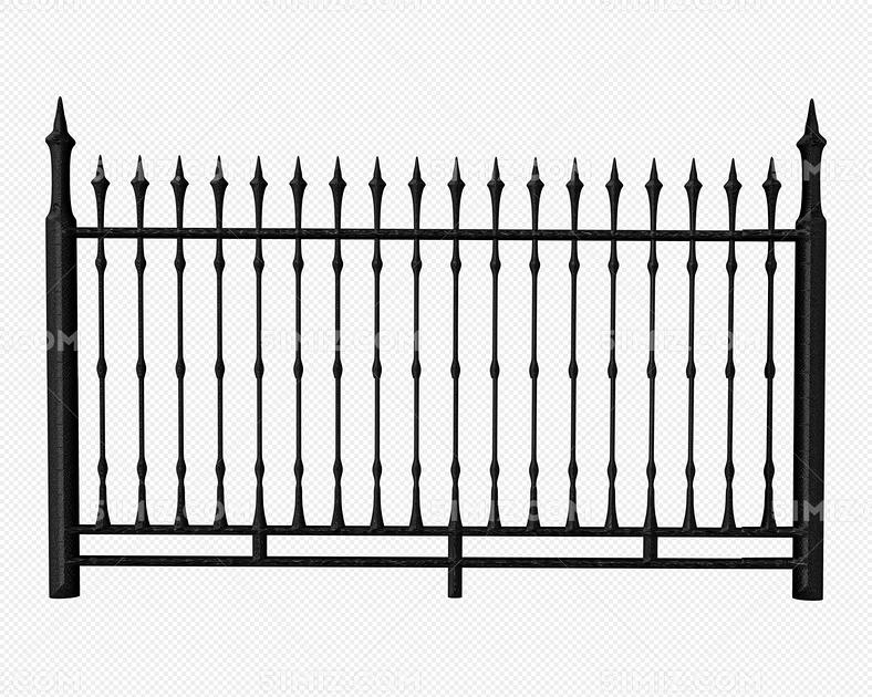 哥特风建筑铁栅栏图片素材免费下载_觅知网