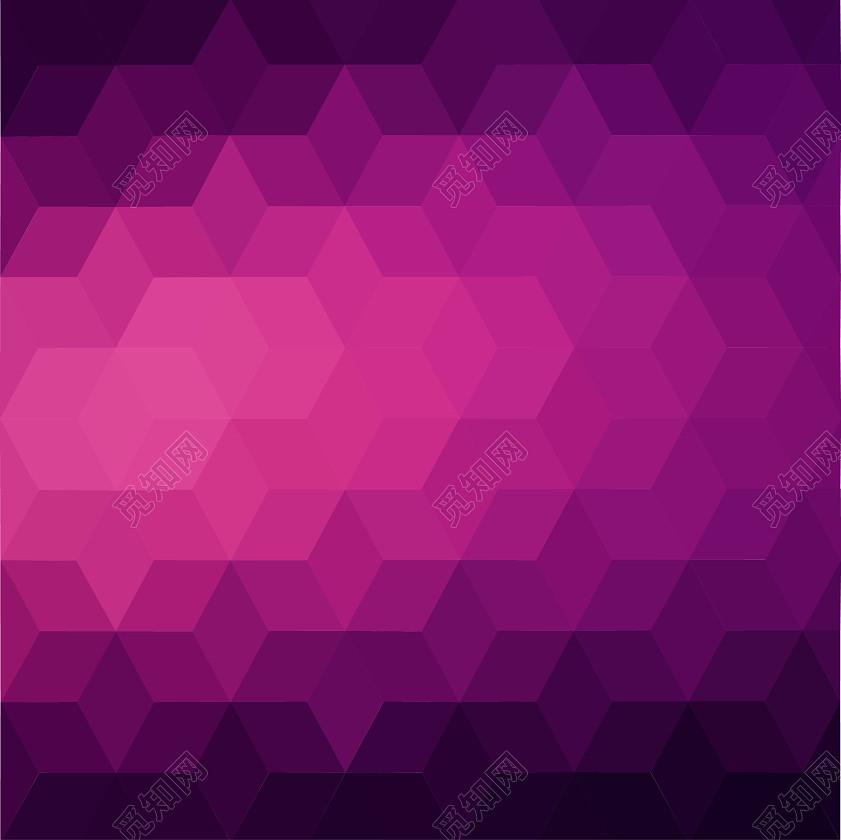 彩色多边形几何扁平化背景素材jpg