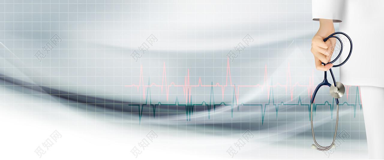 医院医生护士医疗科技素材海报banner背景