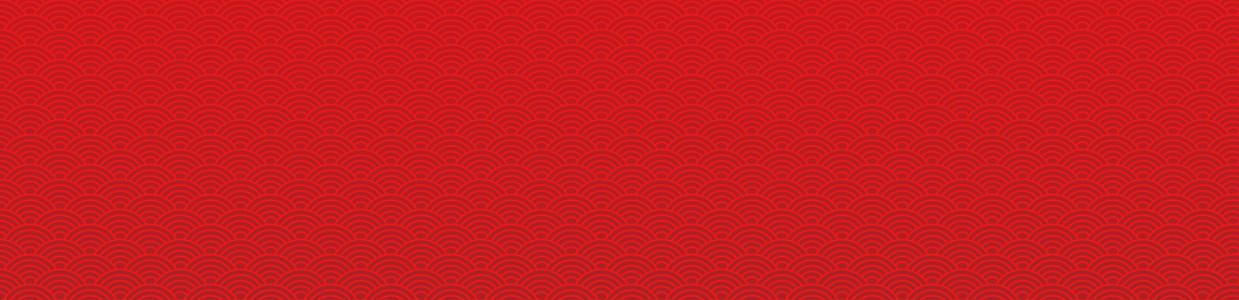 中國風紅色純色中秋節banner背景素材