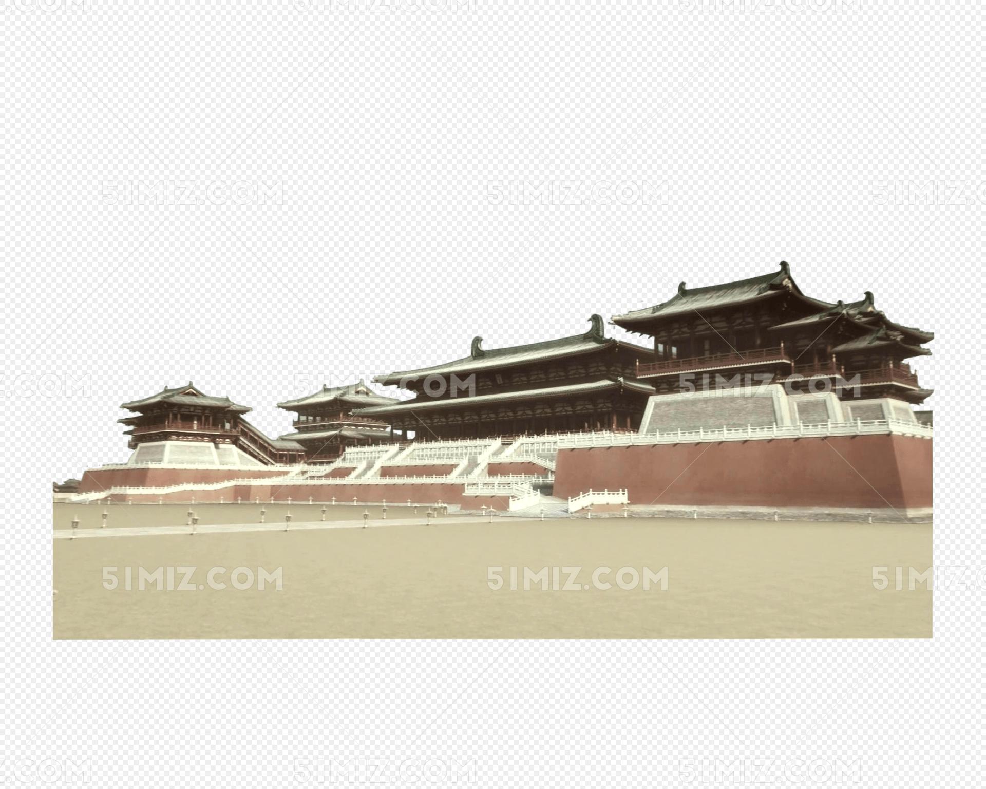 古建筑汉代建筑皇宫图片