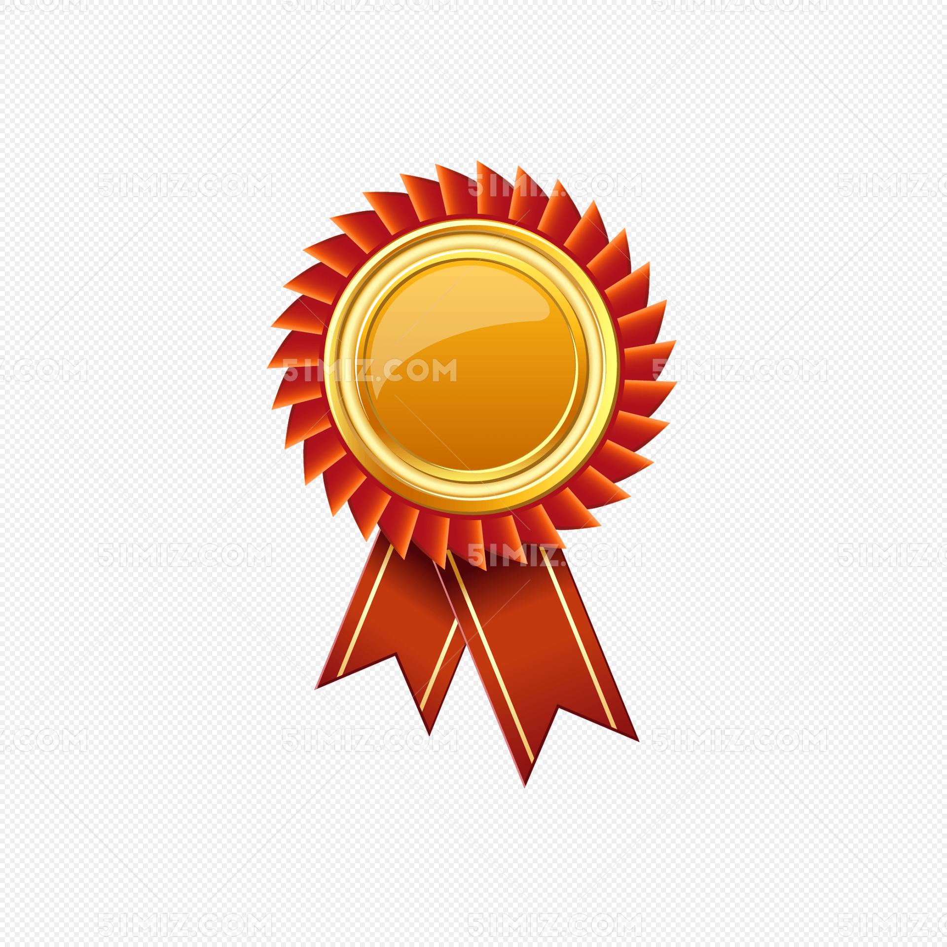 警察奖章矢量图