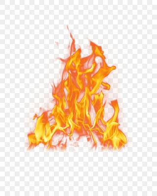 熾熱的火焰火苗
