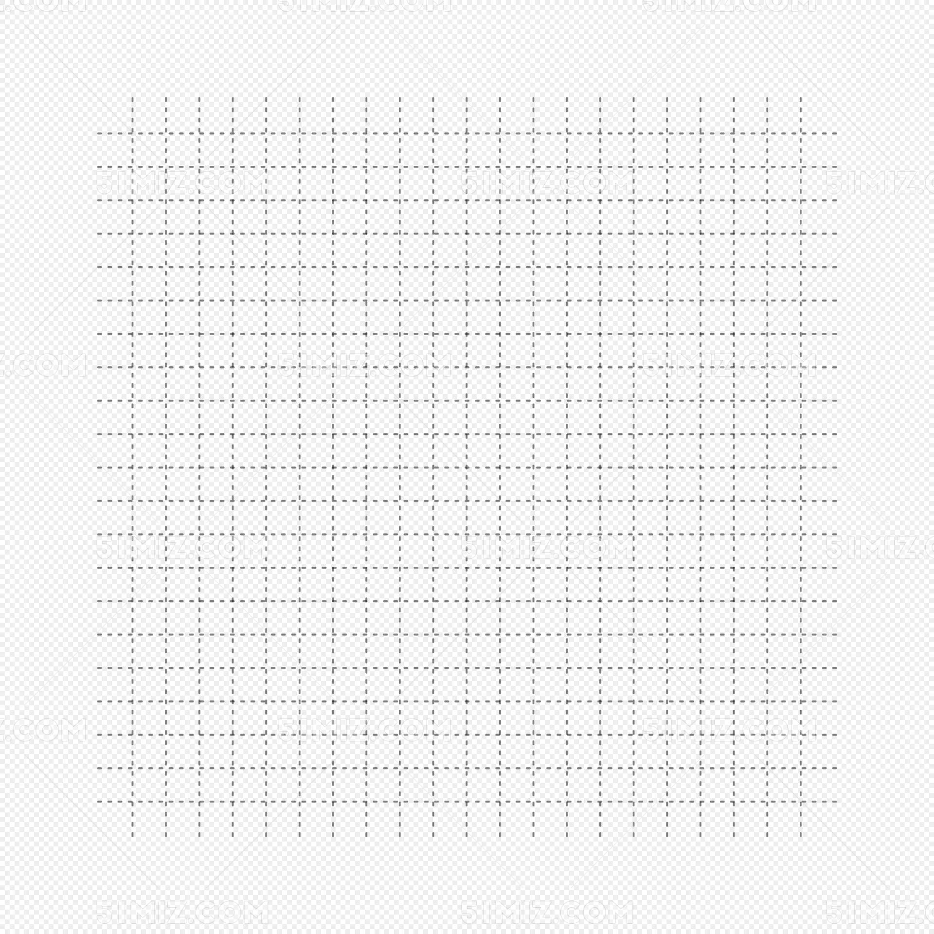 矢量手绘虚线横竖线表格网格格子图片素材免费下载 觅知网