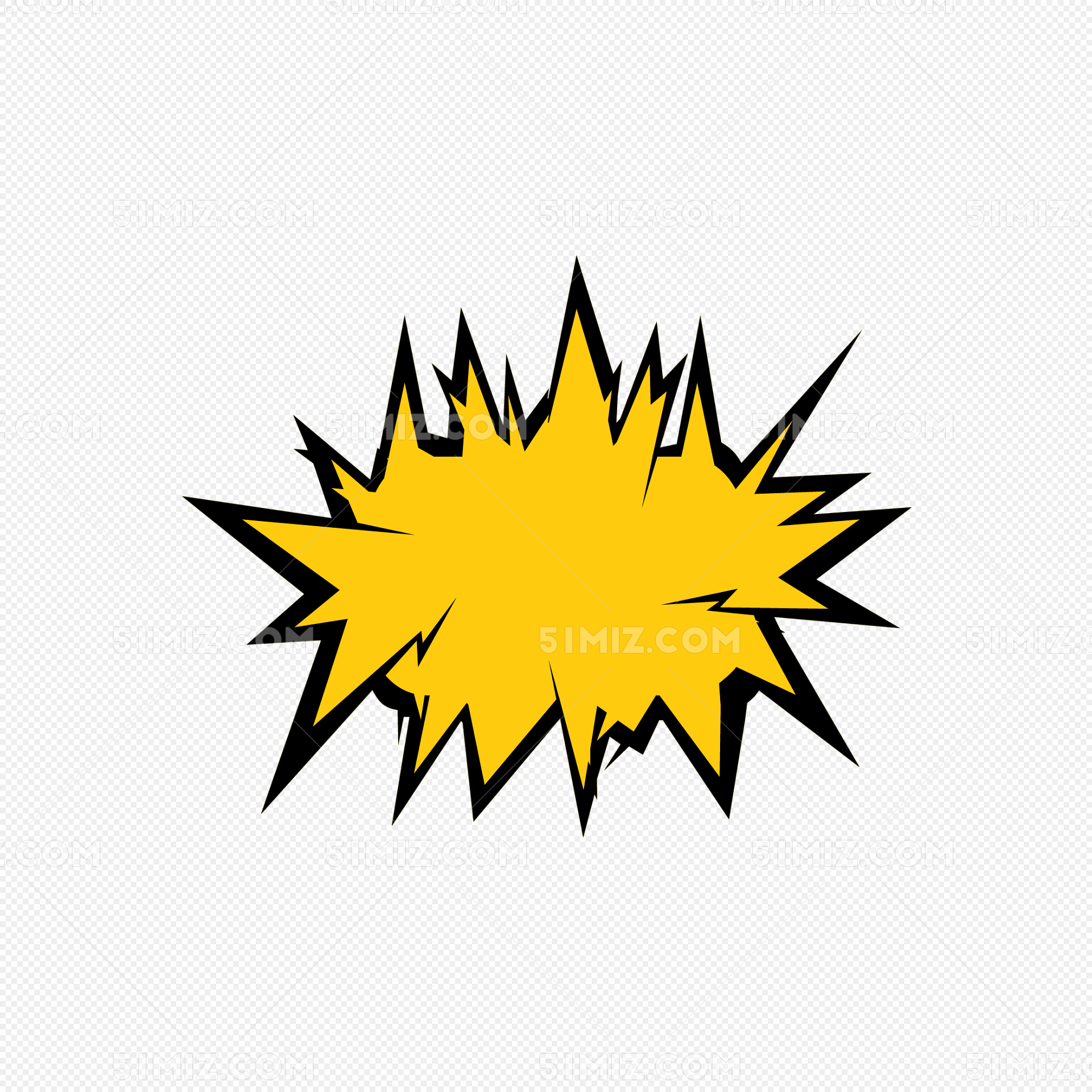 爆炸爆炸签星状图片素材免费下载_觅知网