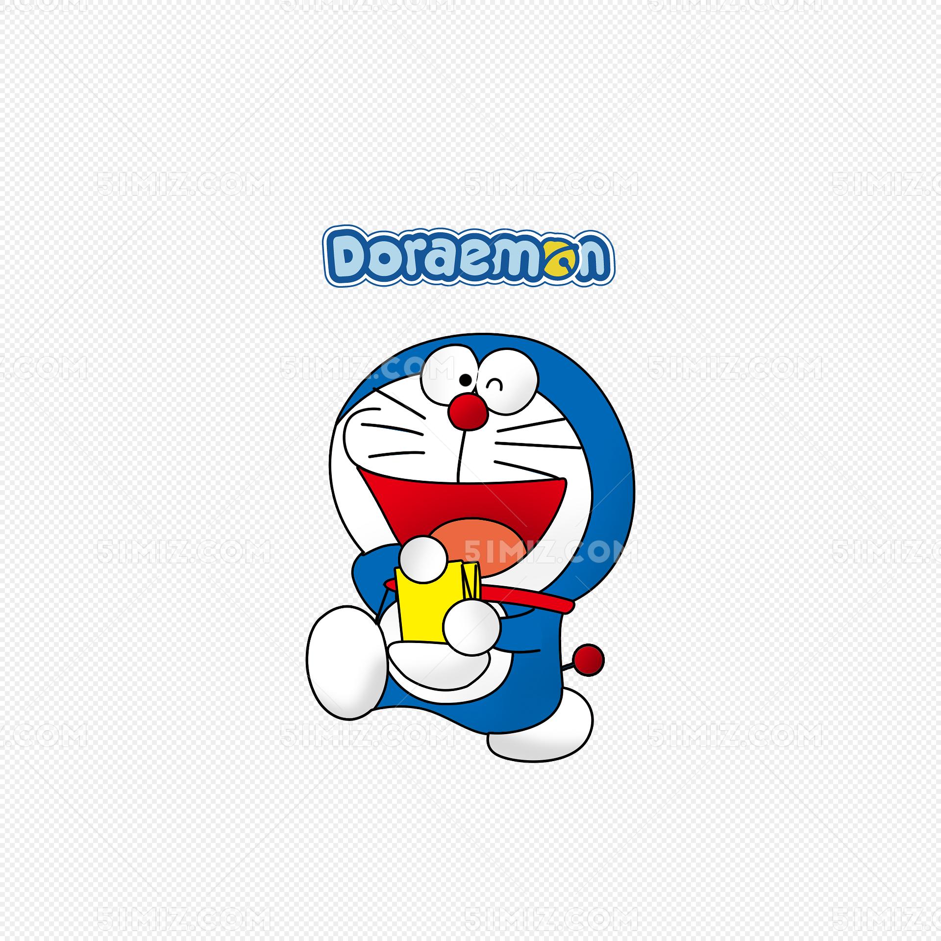 卡通哆啦A梦图片素材免费下载 觅知网图片