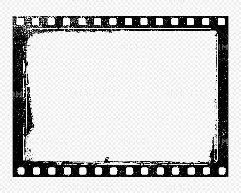 胶卷视频边框免费下载_png素材_觅知网