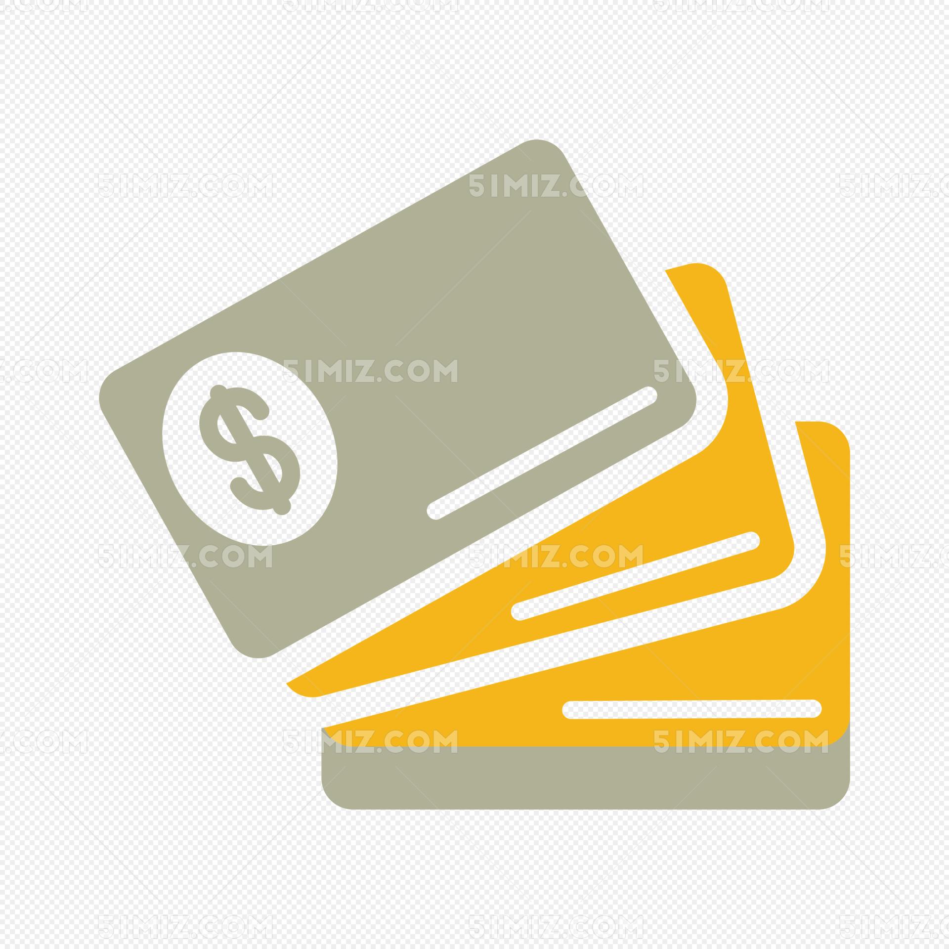 银行卡理财图标设计
