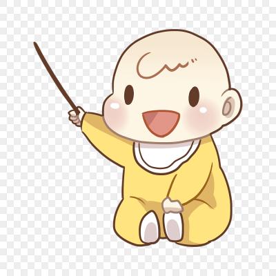 卡通手繪嬰兒寶貝母嬰素材