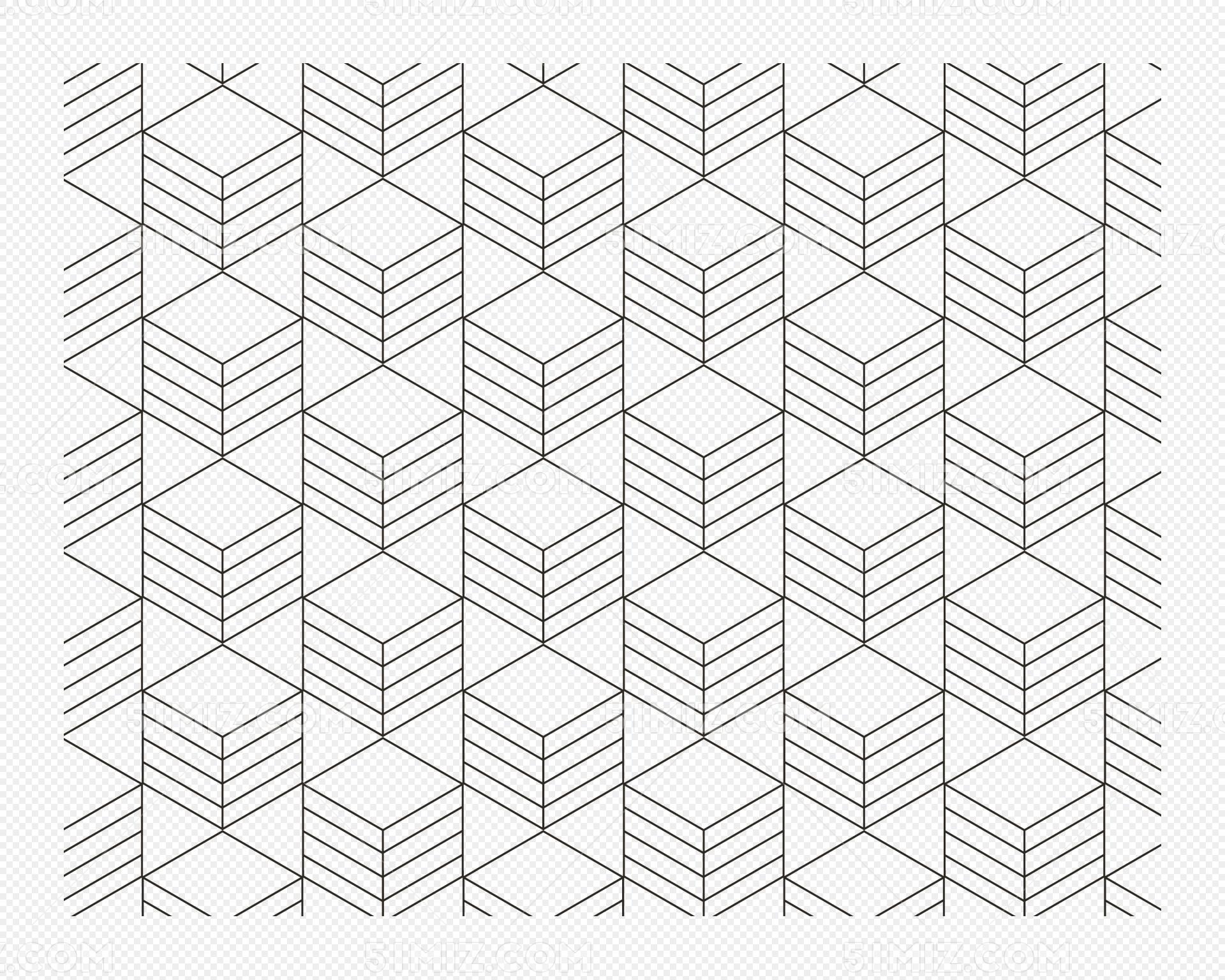 矢量线条无缝拼接底纹背景免费下载_png素材_觅知网