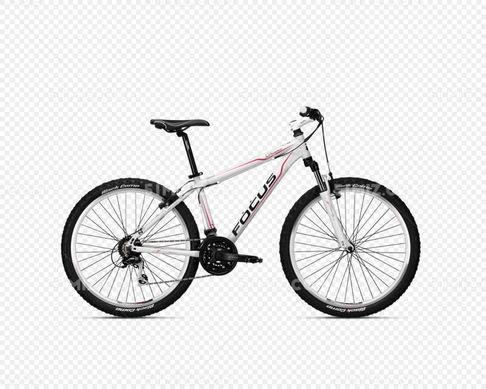 白色自行车免费下载_png素材_觅知网